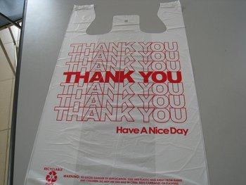Thank You Plastic Bag