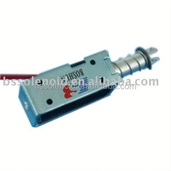 Bs-0946 Small Size And Long Stroke Solenoid - Buy 12v Latching Solenoid  Actuator,Big Stroke Solenoid,Pull Solenoid Product on Alibaba com