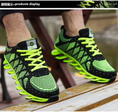 Running Shoes Blade 2018 New Arrivals Men Mesh Breathable Male Sneakers Fashion Trainers Sport Shoes
