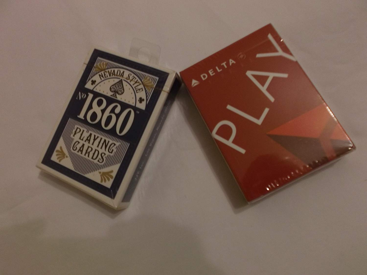 Lot 2 Deck of Playing Cards Nevada Style 1860 & Delta New