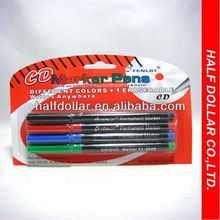 Permanent CD Markers/CD scratch marker/CD quickly stains repair marker pen