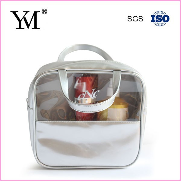 2015 popular cosmetic company promotional ladies pu cosmetic bag