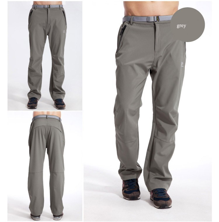 ee684d8e371 Hot USA men winter pants pocket design style stretch functional trecking  softshell pants waterproof breathable windproof