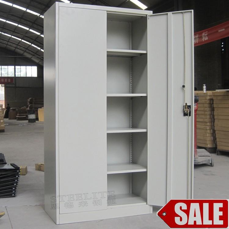 2 swing door used metal file cabinets sale / legal size used metal