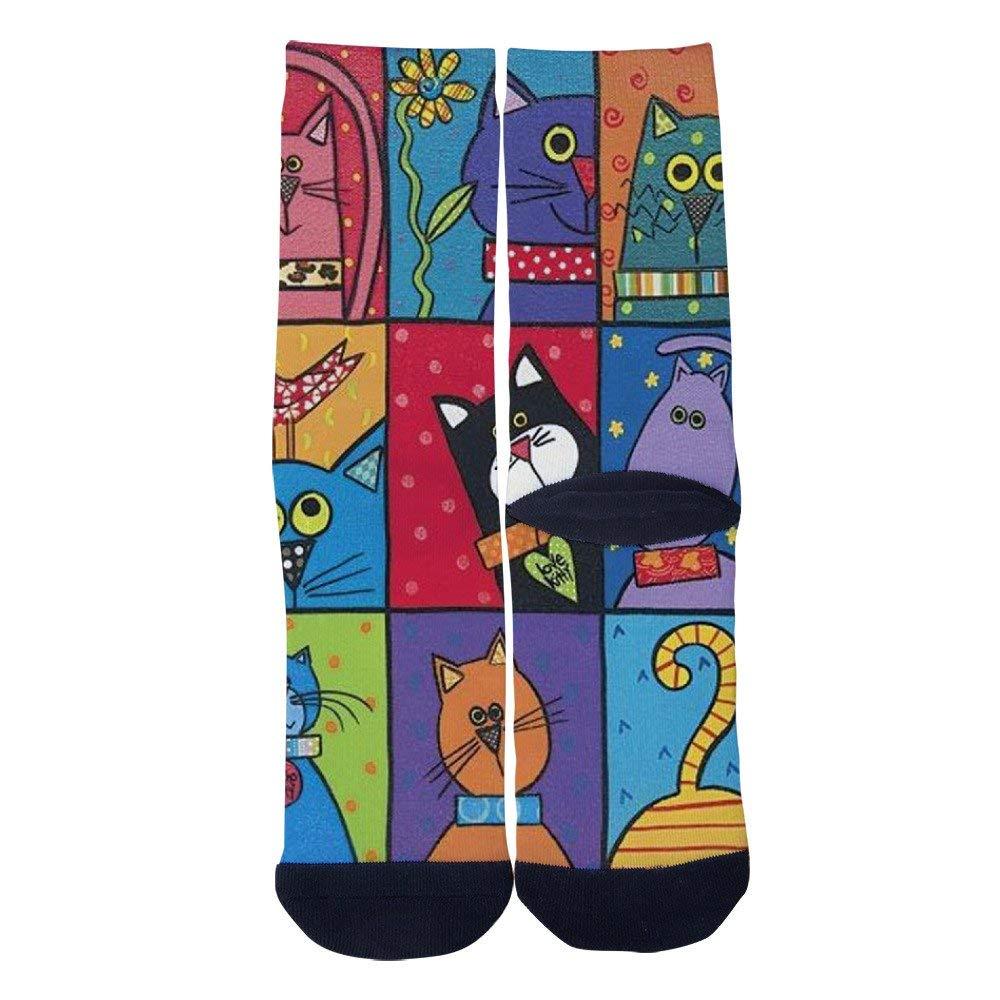 TheFun-Z Custom Scifi Art Socks Novelty Funny Cartoon Crew Socks Elite Casual Socks