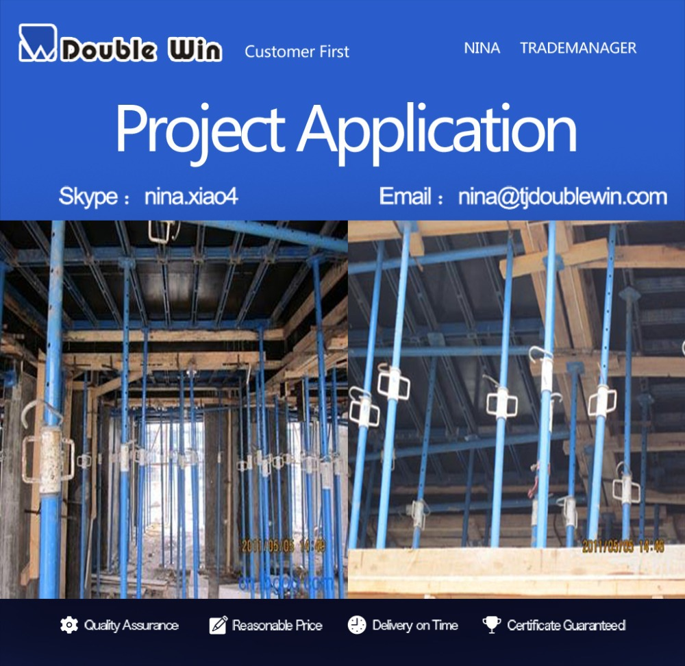 Long Span Scaffolding : Long life span steel prop as building construction tools
