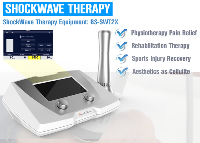 Extracorporeal Shock Wave Therapy Device for Urologists Orthopedists and Physical Therapists