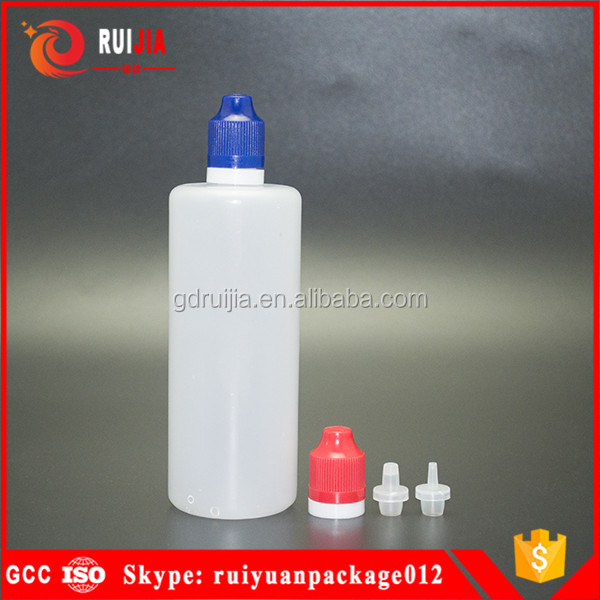 50ml 60ml 100ml 120ml 150ml 180ml empty e juice pe plastic bottle