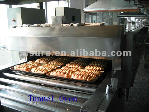 bread or cake tunnel oven for sale