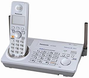 Panasonic KX-TG5761S 5.8 GHz FHSS GigaRange Expandable Digital Cordless Telephone