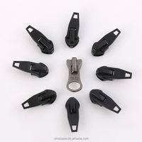 High quality rubber custom design zipper sliders