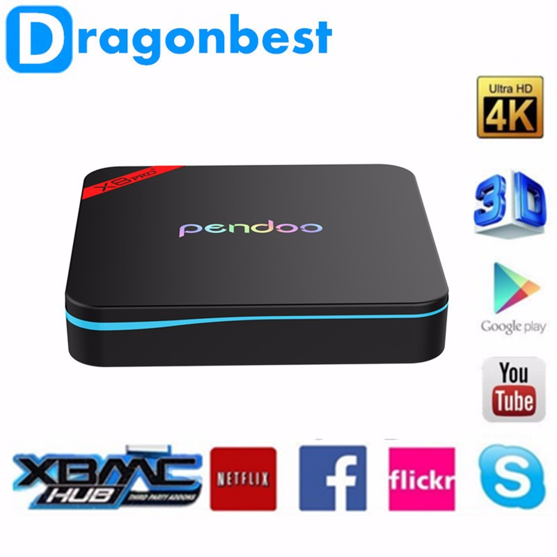 Pendoo X8 pro+ Amlogic S905X <strong>Android</strong> 6.0 Smart <strong>Tv</strong> <strong>Box</strong> 1g/8g H.265 4K Kodi 16.1 Quad Core <strong>android</strong> set top <strong>box</strong>