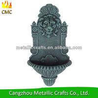 Cast Iron Lion Wall Fountain
