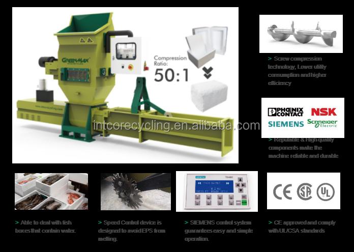 GREENMAX hoge efficiënte huishoudelijke plastic shredder voor verkoop