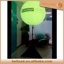 custom 1.2m PVC self inflating remote control balloons sph for outdoor display
