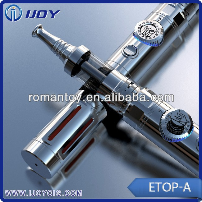 16 manual gears with Transformers mod Ijoy Etop-A hammer mechancial ecig mod 26650