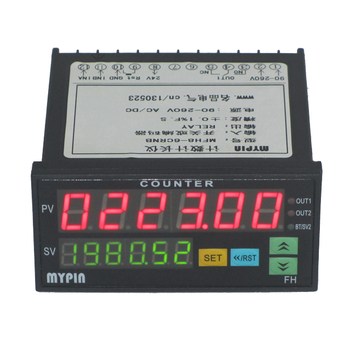 Mypin 1/8 Din Digital Preset Counter(model FH8-6CRNA)