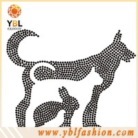unique food chain hotfix motif design for fashion clothes