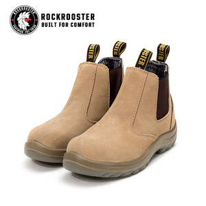 Australian suede leather welding safety boots construction steel toe work boots