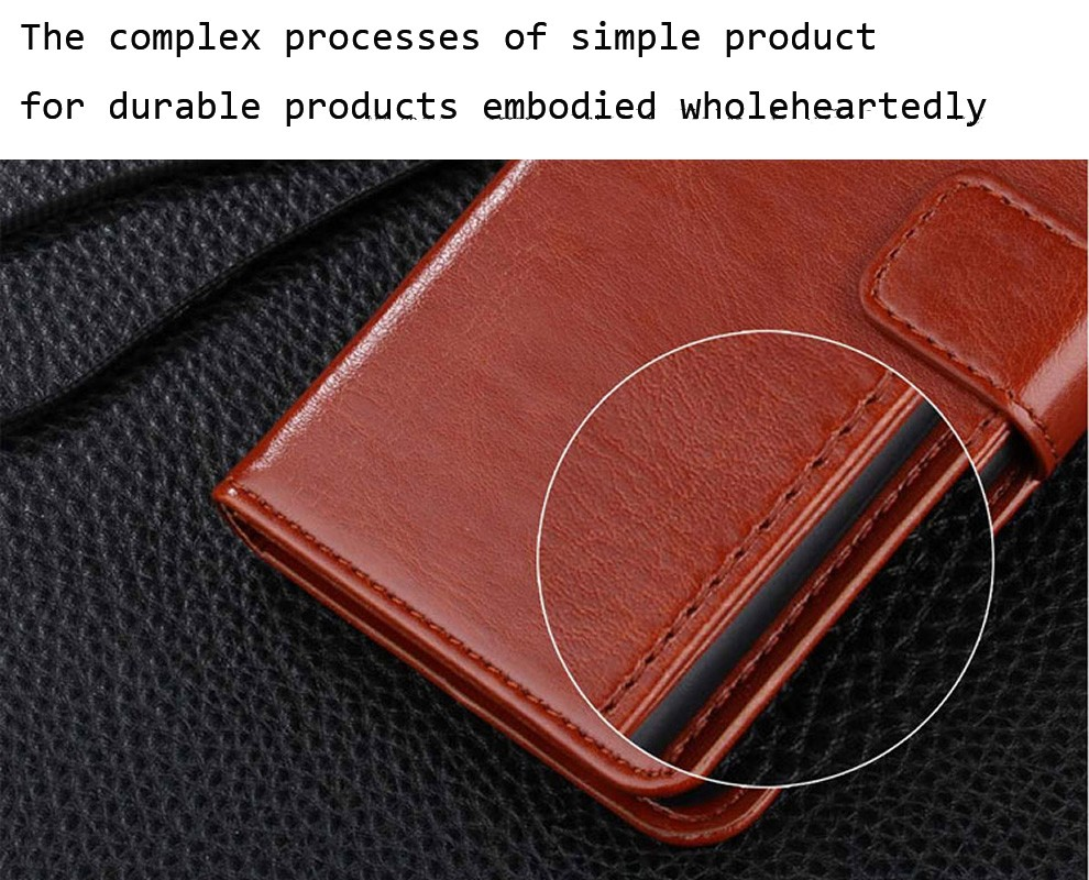 Classic Style Leather Flip Phone Case for Samsung galaxy S8 S8 plus