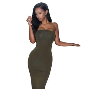 fa78c3bcc7ac Customize Logo Vestidos Latest Western Design Sexy Dress Woman Bodycon  Dresses For Ladies Strapless Club Dress - Buy Club Dress,Bodycon Dresses,Sexy  Dress ...