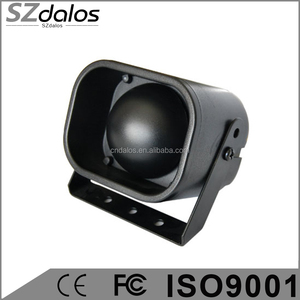 1 Tone or 6 Tone battery backup car alarm siren with ABS housing