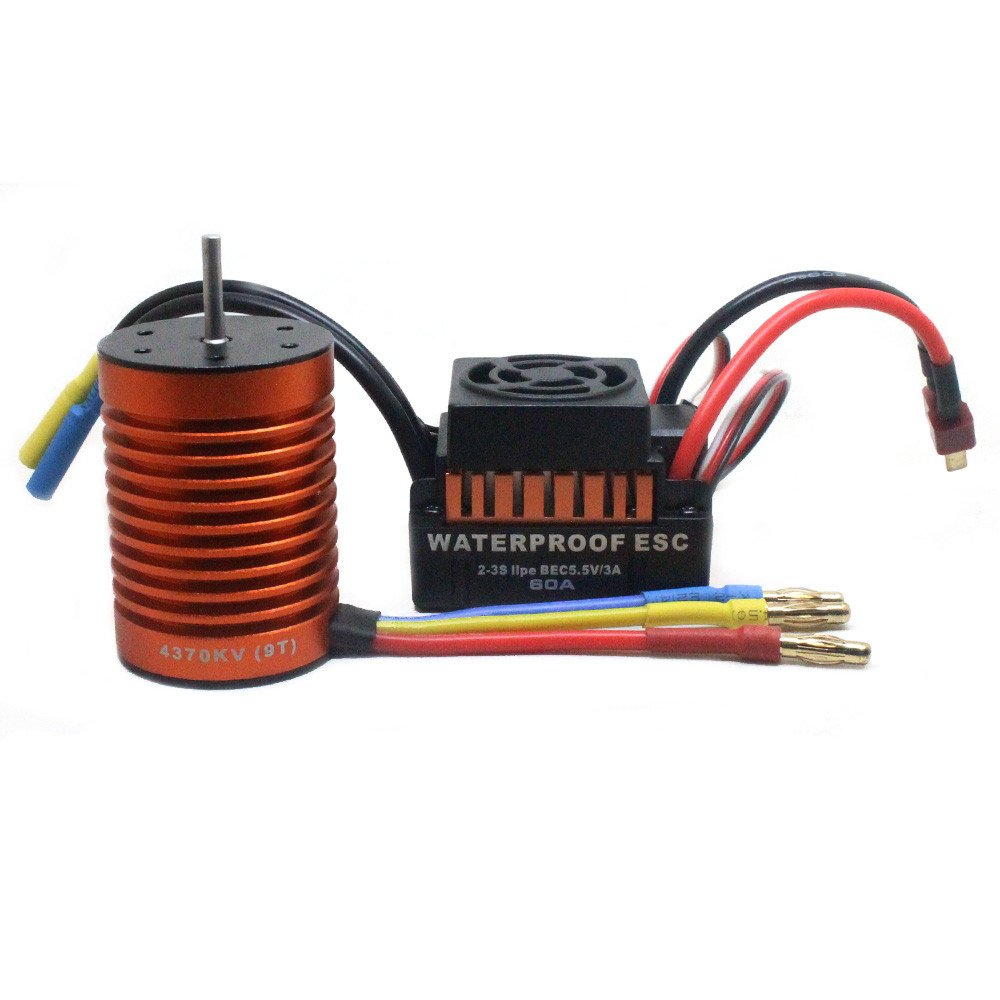 Cheap Brushless Esc 60a Find Deals On Line At Diy Electronic Speed Controller Homemade For Rc Get Quotations Motor Oldeagle 9t 4370kv Combo Me720