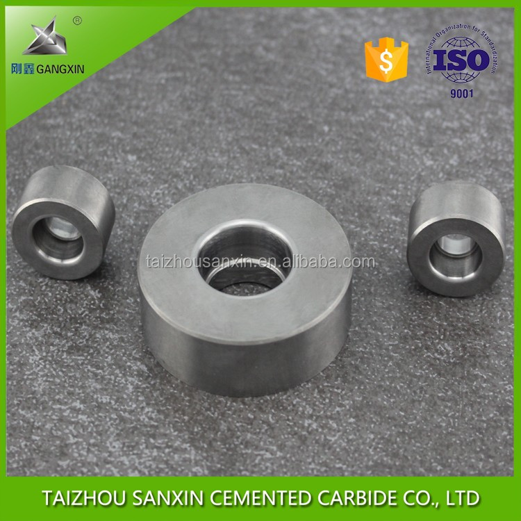 Alibaba china supplier finished customized tungsten carbide extrusion die,tungsten carbide die for extrusion