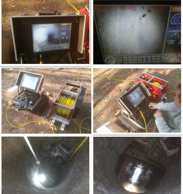 Pvc Pipe Camera : Degree m ip underwater cctv robot camera buy