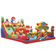 Tongyao toy amusement park design giant inflatable castle games for sale