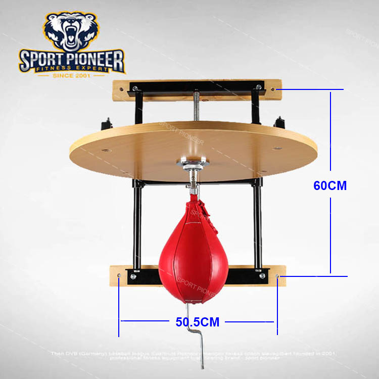 professional adjustable work boxing fitness speed bag platform boxing speed ball platform