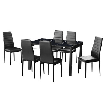 simple structure dining furniture formal dining table set