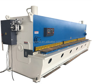 Factory direct sale price 10*3200mm QC11Y Steel sheet hydraulic guillotine shearing machine