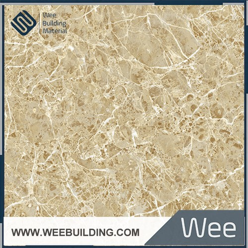 light emperador glazed polished marble tile