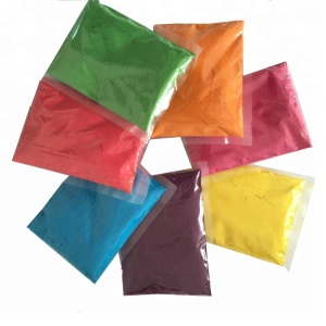 Wedding Party 7 Colors Customized Package Blue Red Holi Color Powder for Color Run Events