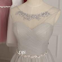 Недорогие розовые короткие шифоновые платья подружки невесты, 5 цветов, 2019, белое торжественное платье размера плюс с кристаллами, Vestidos De Novia(Китай)