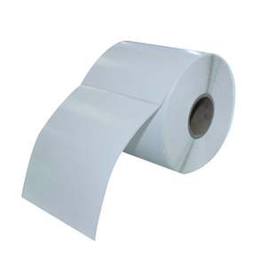 Factory custom 40x28 direct thermal blank paper label sticker