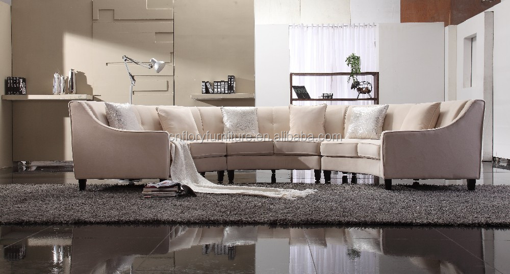 Modern Luxury Semi Circle Sofa