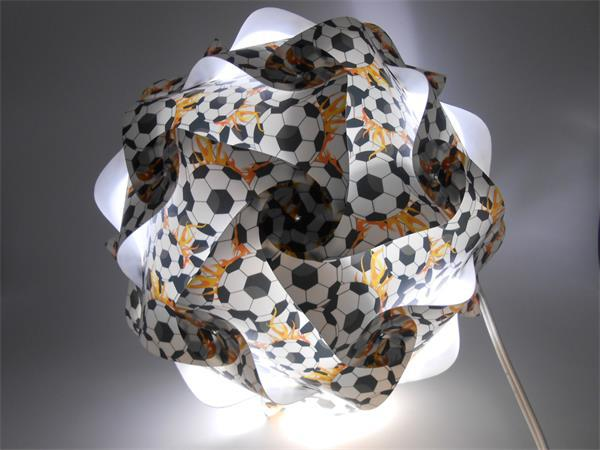 brazil world cup promotion gift infinity lights puzzle light <strong>Lamp</strong>