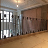 metal stair banister and railing home decoration forged balustrades