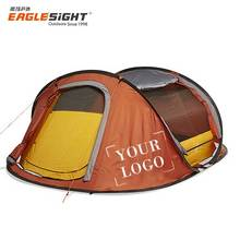 Pop Up Tent Single Layer 2 Person Lightweight Tent
