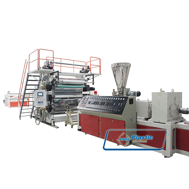 extrusion machine/line for pvc marble sheet/board