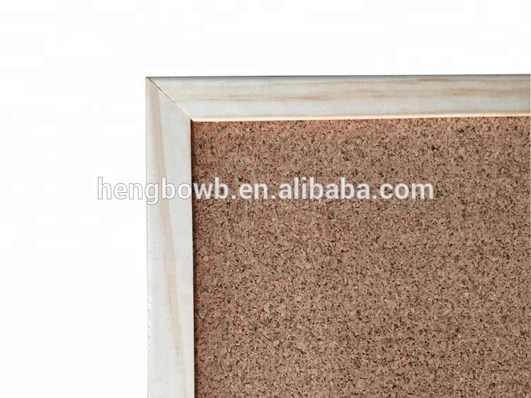 Customized school aluminum/wooden frame pin bulletin cork board notice board