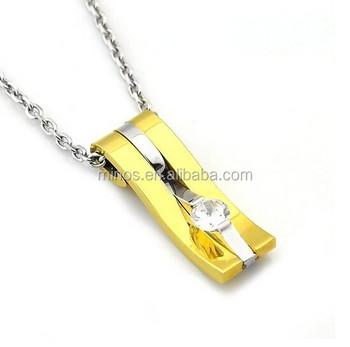 Gold fancy necklace designmens necklaces novelty stainless steel gold fancy necklace design mens necklaces novelty stainless steel gold rectangular pendant necklaces aloadofball Images