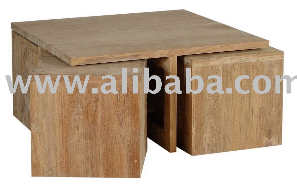 - Coffee Table & 4 Stools - Buy Funiture Product On Alibaba.com