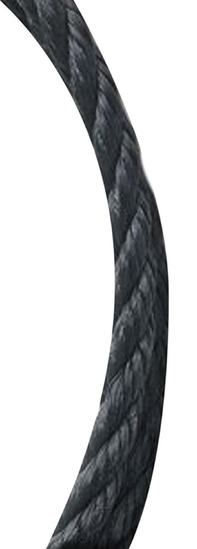 Koch 5051045 5/16 by 600-Feet Poly Twisted 3 Strand Rope, Black