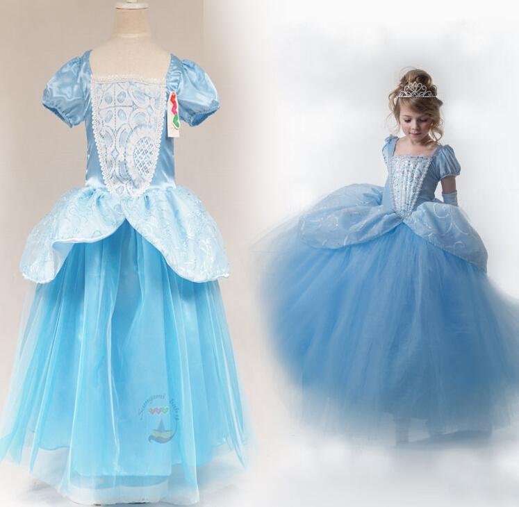 2015 Summer Baby Girls Cinderella Princess Layered Dress
