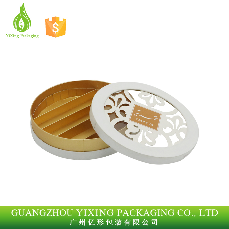 Factory wholesale round shape chocolate paper box Manufacturer
