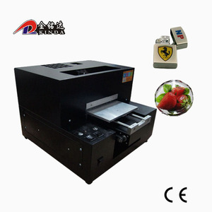 digital color multifunction printer a4 size car sticker printing machine digital flatbed chain phone case printing machine