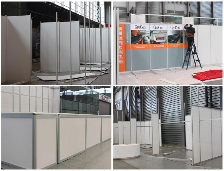 Exhibition Booth Partition : Economic aluminum exhibition booth partition walls for